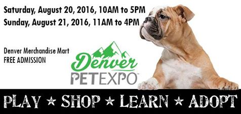 Denver PetExpo*Aug 20-21 2016*11-4