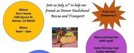 2nd Annual Dachshunds & Dogs*July 31, 2016*12-3